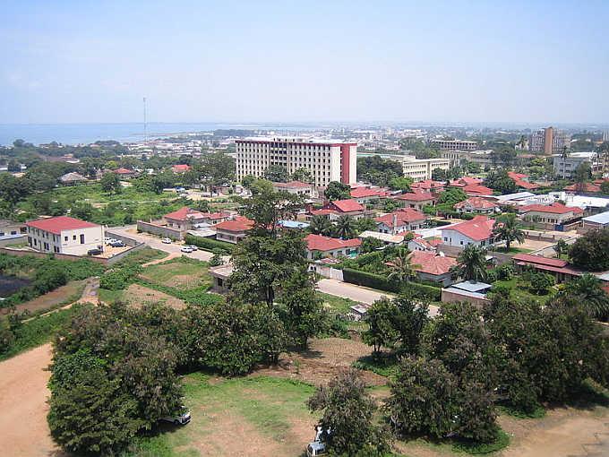 A view of capital Bujumbura, Burundi.