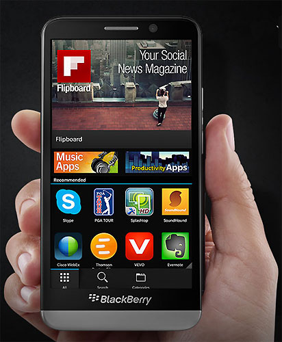 BlackBerry Z3.