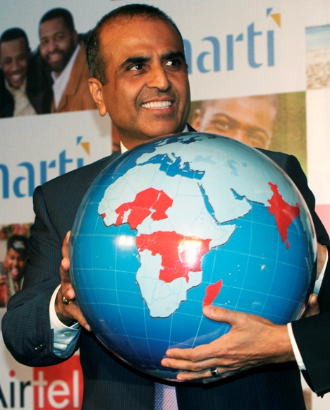 Sunil Mittal was also present for the ceremony.
