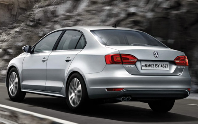 Volkswagen unveils new Jetta at Rs 13.70 lakh