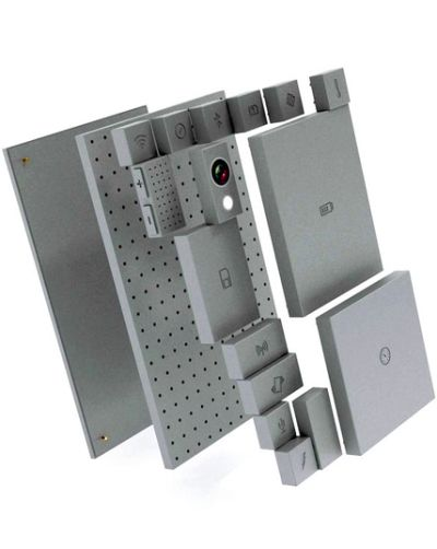 A customisable phone from Phonebloks. Motorola has recently teamed up with Phonebloks for the project.