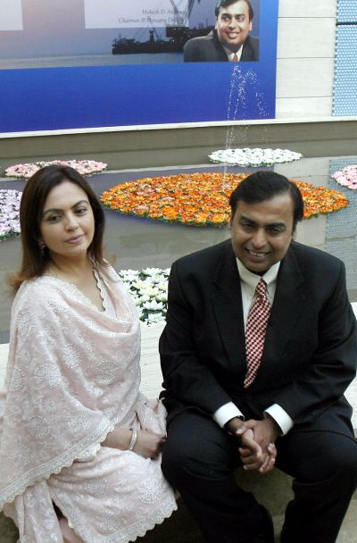Mukesh Ambani, Lakshmi Mittal among most powerful people