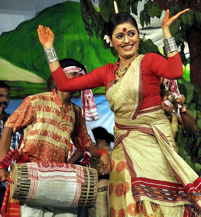 Bihu Samragi festival in Guwahati.