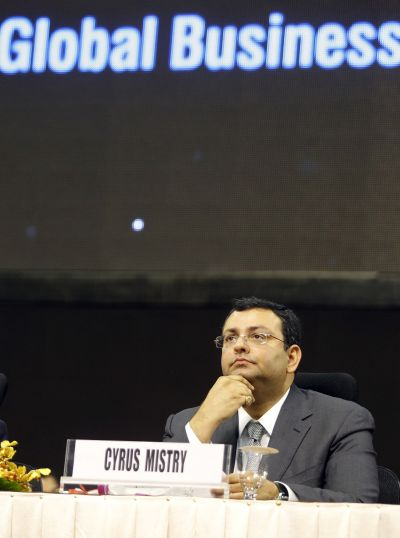 Cyrus Mistry, Chairman, Tata Group.