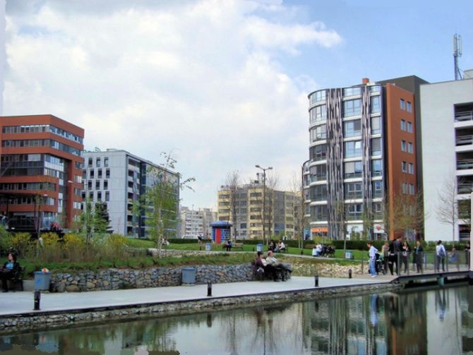 Business Park in Sofia city.