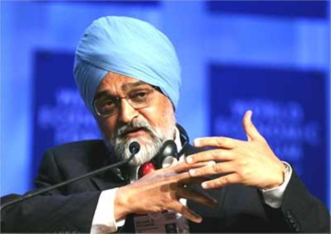 Montek Singh Ahluwalia.