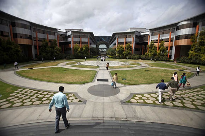 The Infosys campus.