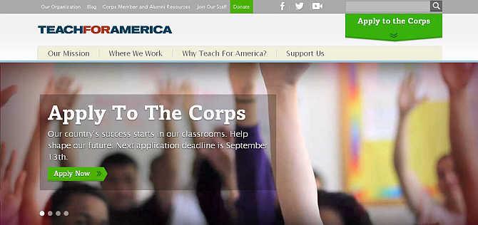 Teach for America.