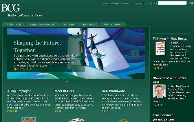 Boston Consulting Group.