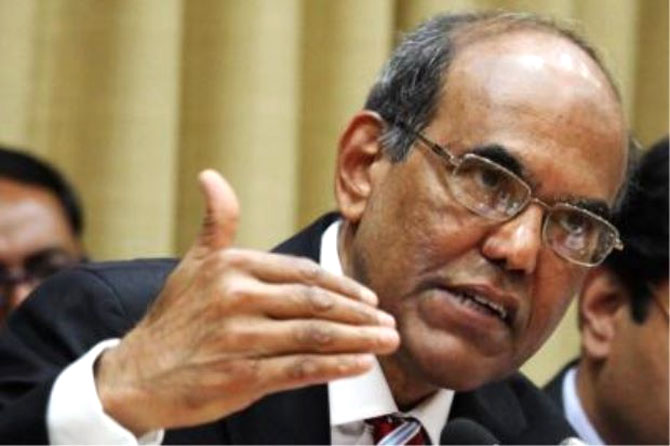 Outgoing RBI Governor D Subbarao.
