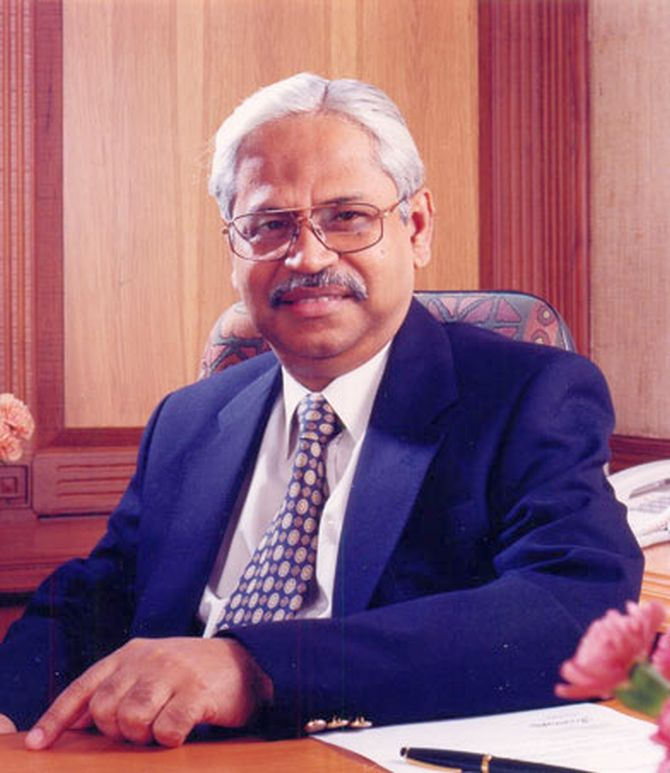 Hindalco Industries MD D Bhattacharya.