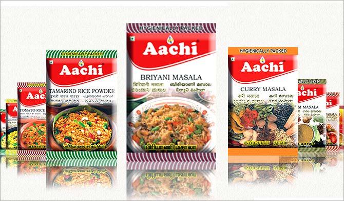 Aachi Masala Foods.