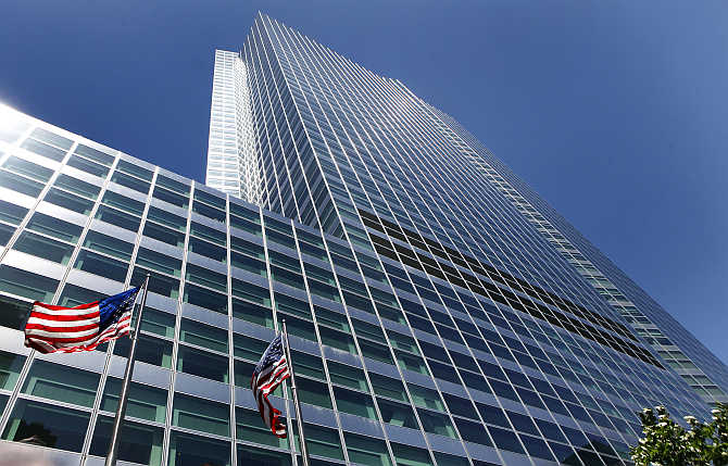 Goldman Sachs building at 200 West Street, New York.