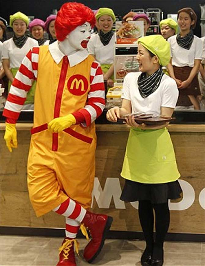 Vikram Bakshi set for battle against McDonald's