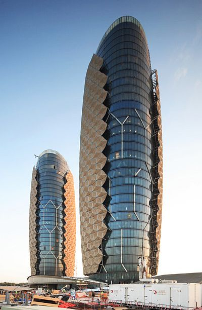 World 39 s coolest futuristic buildings business for Architectural design companies in abu dhabi