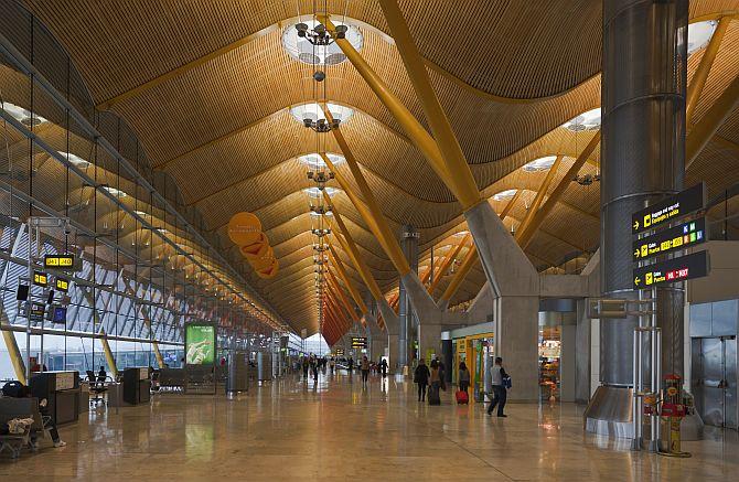 Terminal 4 Madrid-Barajas Airport