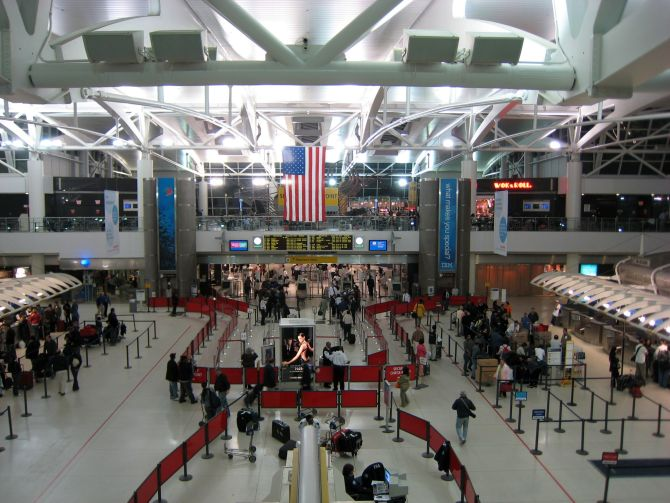 JFK Airport, Terminal 1.