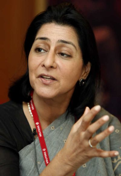 FICCI President Naina Lal Kidwai.