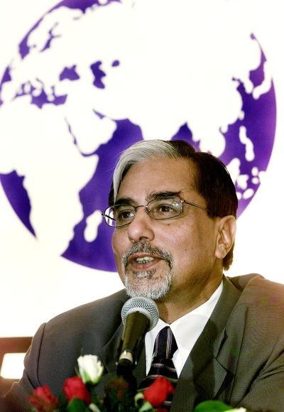 Zee Group chairman Subhash Chandra,