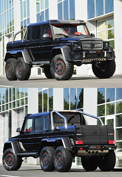 This monstrous Brabus B63S makes a Hummer look small