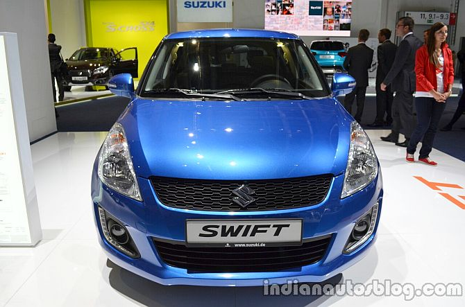 Suzuki unveils new Swift at Frankfurt Motor Show
