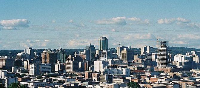Harare Skyline.