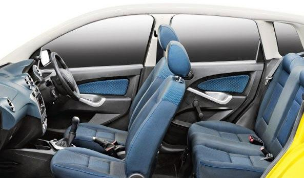 Interior of Ford Figo.