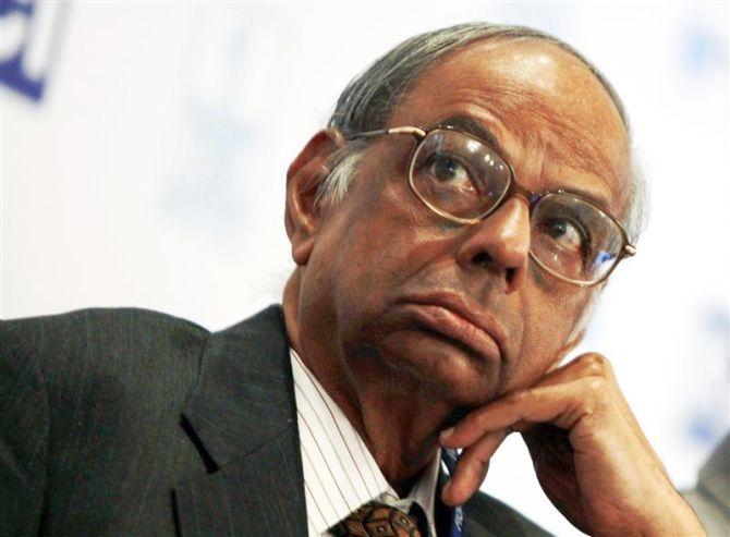 Prime Minister's key Economic Advisor C Rangarajan.