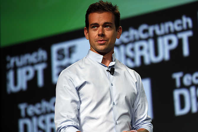 Jack Dorsey, founder of Twitter, in San Francisco, California.
