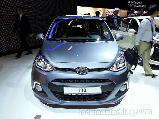 Hyundai unveils new i10 at Frankfurt Motor Show