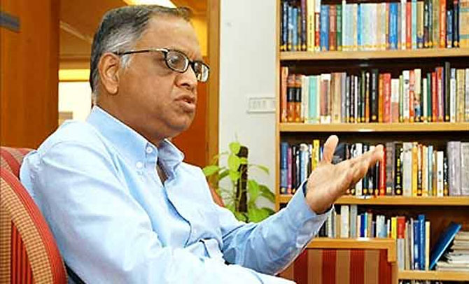 In US, Murthy tries to change 'arrogant' image of Infosys