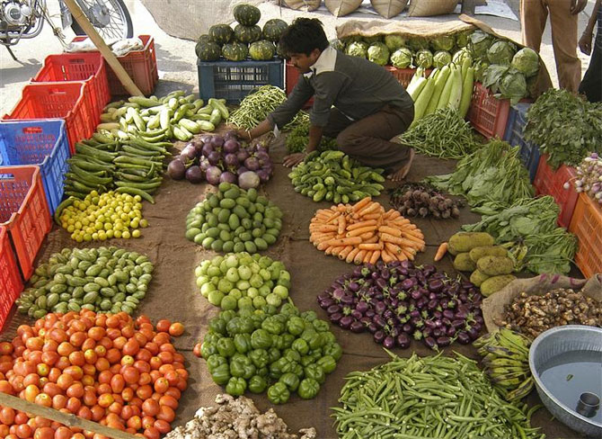 why inflation is high in india