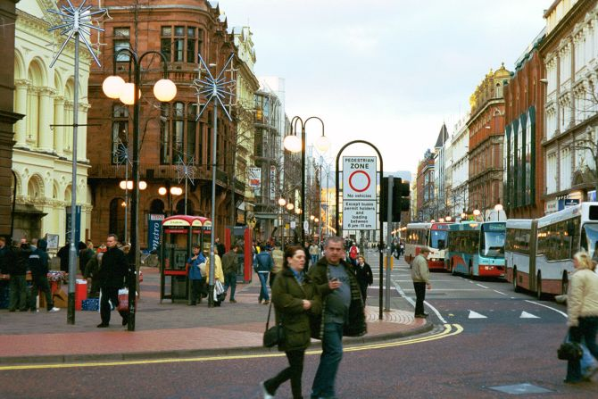 Belfast city.