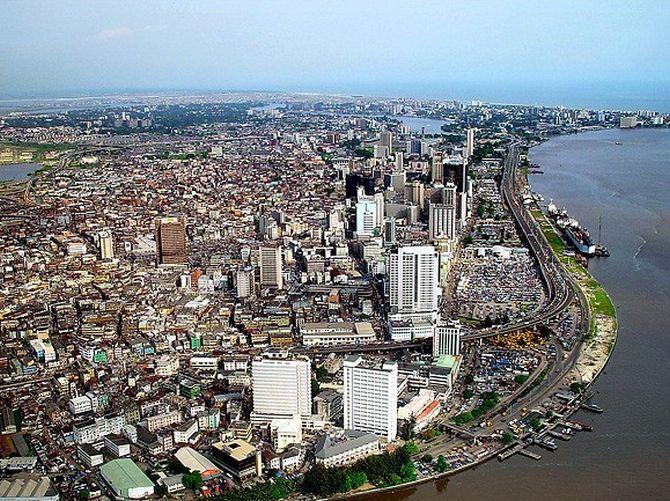 Lagos Skyline.