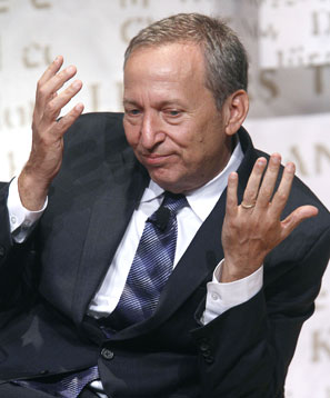 Lawrence Summers. Photograph: Carlo Allegri/Reuters