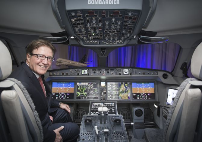 Robert Deluce, President and Chief Executive Officer, Porter Airlines. Porter airlines placed orders for CS Series aircraft.