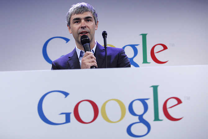 Larry Page in New York City.