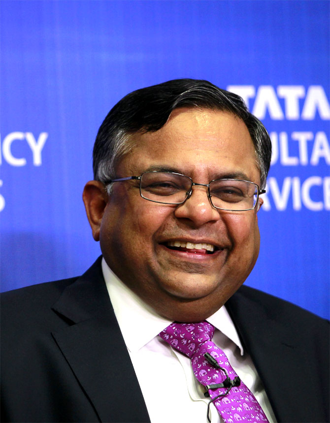 N Chandrasekharan, CEO, Tata Consultancy Services