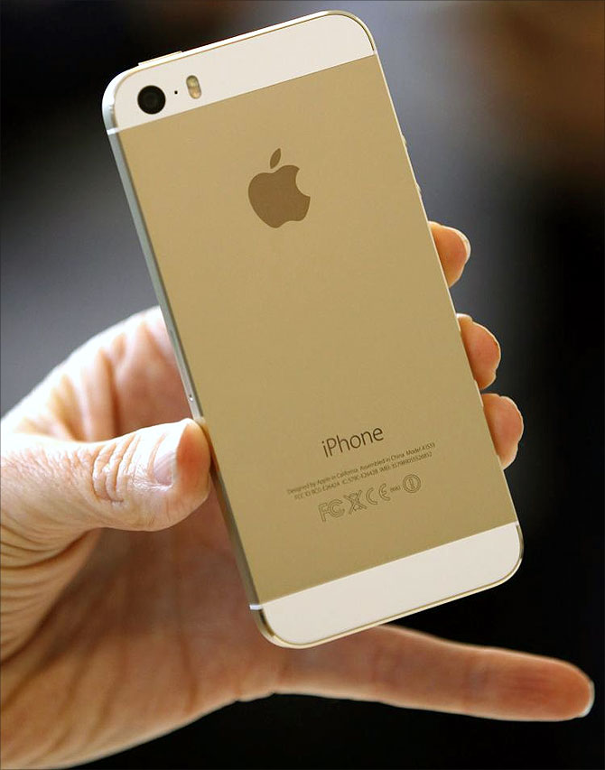 iPhone 5 series sold out in India