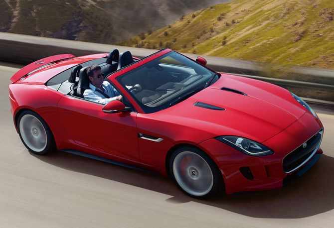 Jaguar F Type.
