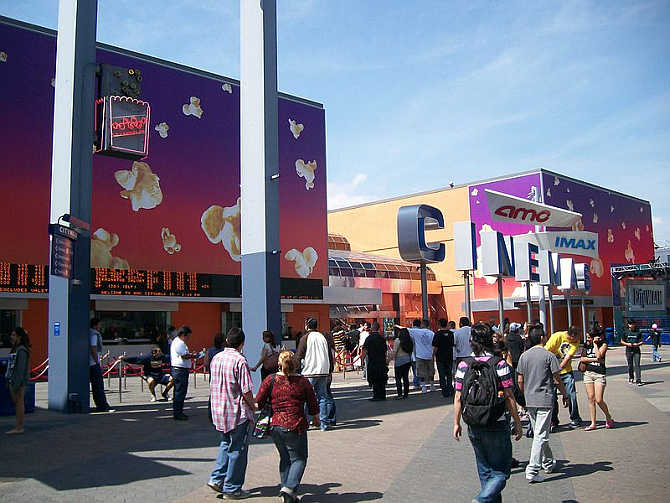 AMC at Universal Studios Citywalk in Universal City, California.