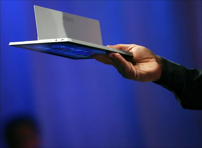 Microsoft revamps Surface tablets to challenge Apple