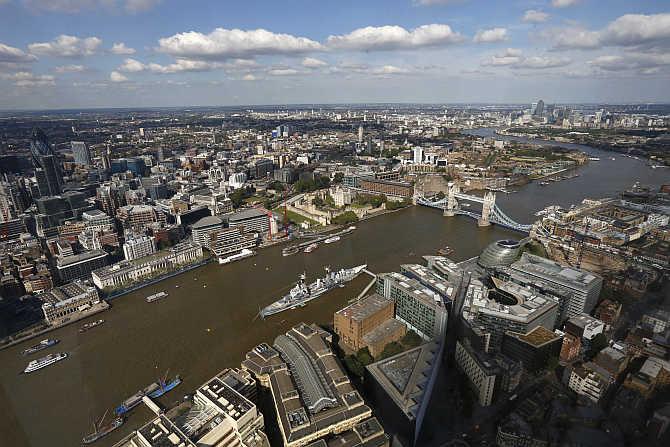 A view of London, United Kingdom.