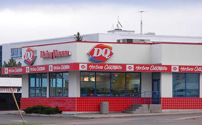 A Dairy Queen location in Moncton, Canada.