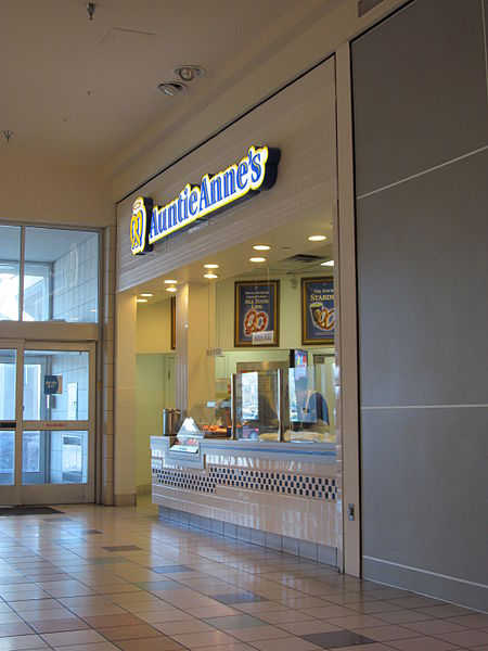 Auntie Anne's restaurant in Albuquerque, New Mexico.