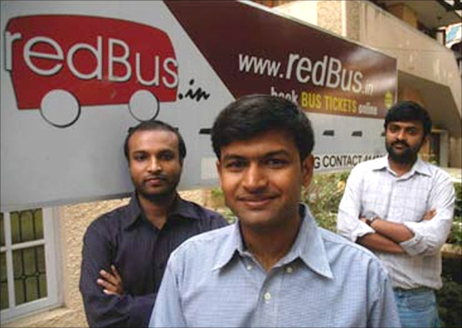 redBus founders.