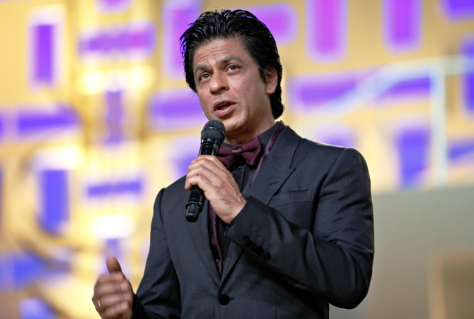Actor Shah Rukh Khan.