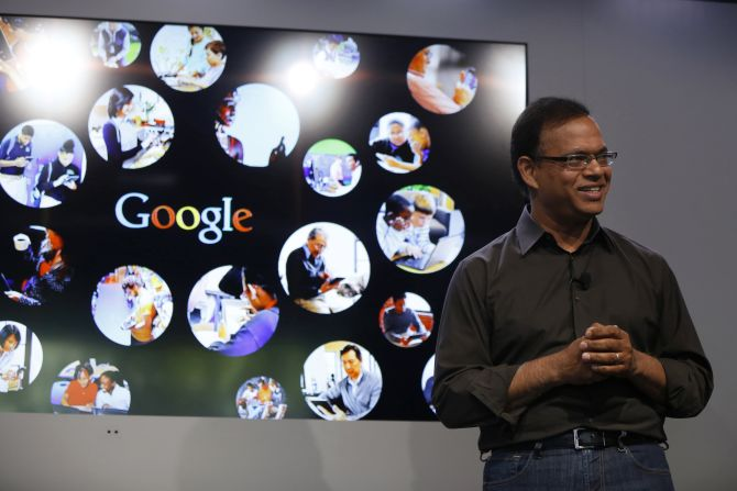 Amit Singhal, senior vice president of search at Google.