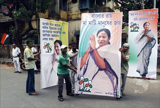 Anti-retail-FDI Mamata cool with foreign brands