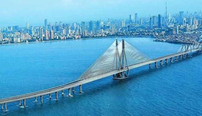 Bandra-Worli Sealink.
